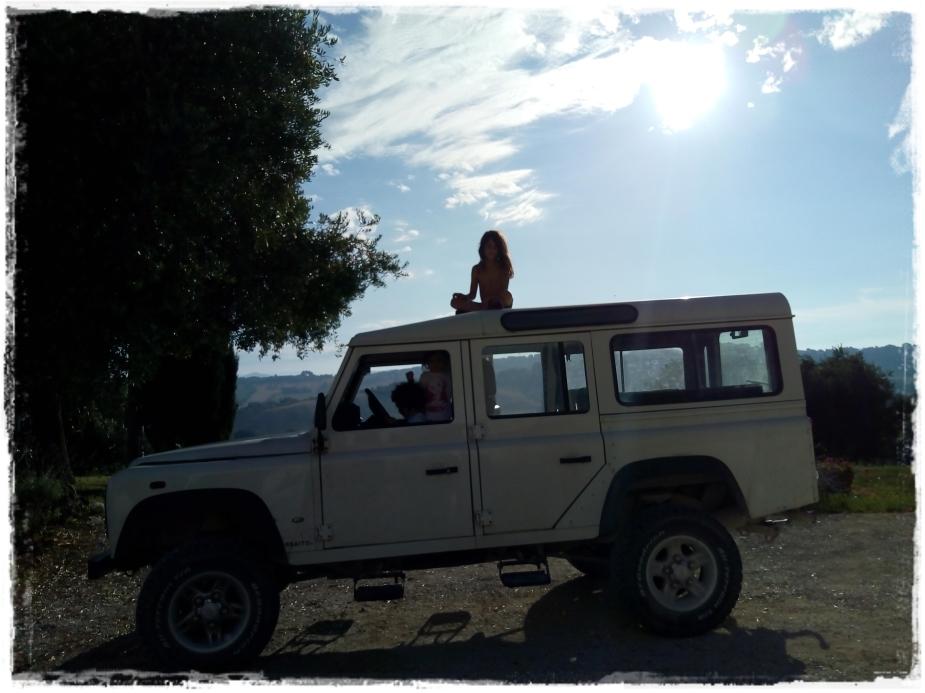 Matilde Fabio Massimo Edda jeep 2018